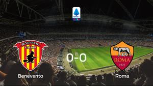 El Benevento y la AS Roma firman un empate sin goles (0-0)
