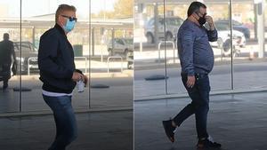 Mino Raiola y el padre de Haaland, cazados en Barcelona