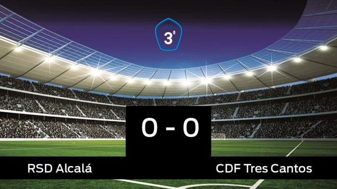 El RAlcalá y el Tres Cantos se repartieron los puntos tras un empate a cero