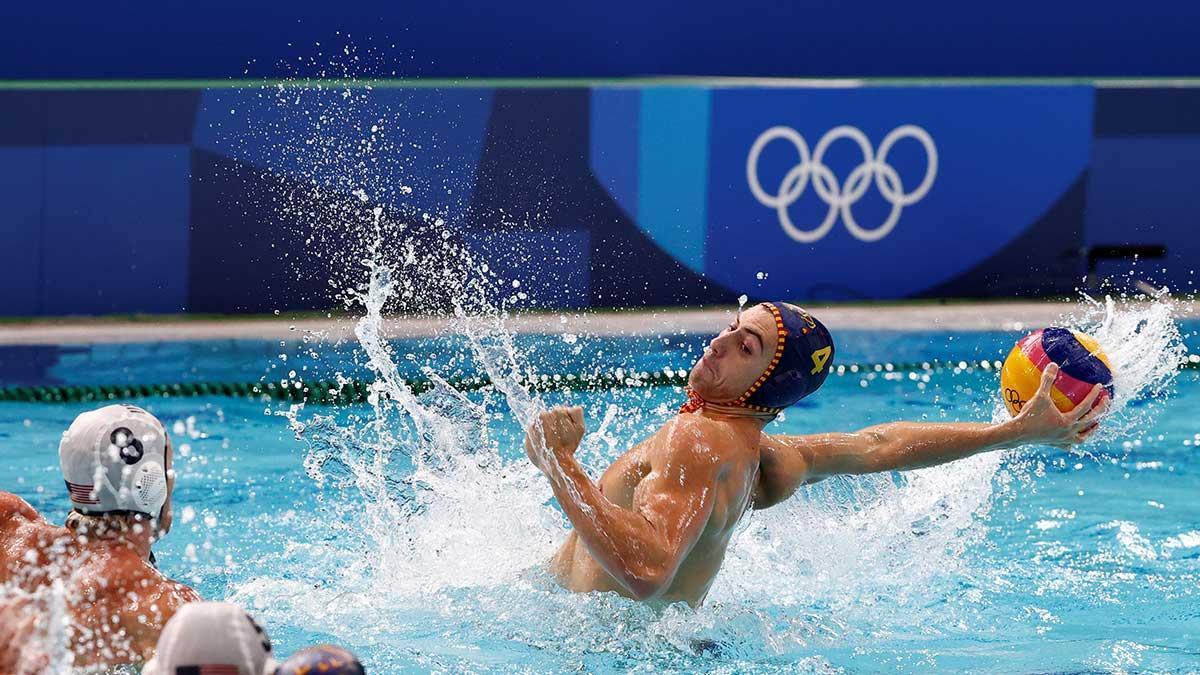 Hungría - España de waterpolo masculino por el bronce
