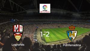 La SD Ponferradina se lleva el triunfo después de derrotar 1-2 al Logroñés