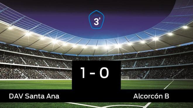 Los tres puntos se quedaron en casa: Santa Ana 1-0 Alcorcón B
