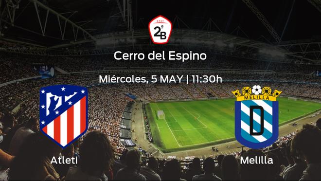 Previa del partido: el Atlético B recibe al Melilla