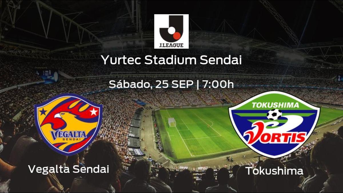 Jornada 30 de Liga Japonesa J1: previa del encuentro Vegalta Sendai - Tokushima Vortis