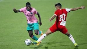 Dembélé se sigue poniendo a tono: gran jugada personal a base de regates ante el Girona
