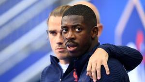 Ousmane Dembélé quiere ser protagonista en esta Eurocopa