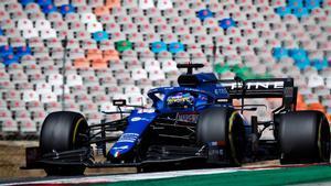 Alonso brilló en las últimas vueltas del GP de Portugal