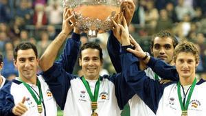 España y el título de Copa Davis del año 2000
