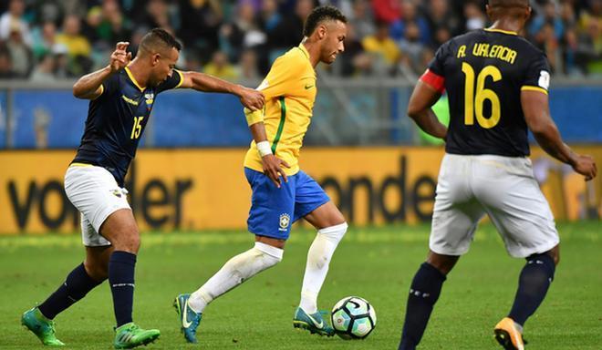 Brasil cerca de Catar tras los goles de Neymar y Richarlison a Ecuador