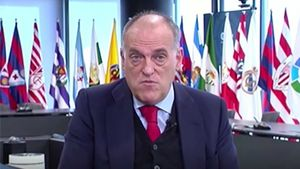 El último zasca de Tebas contra la Superliga europea: Destruiría el fútbol y a los clubes...