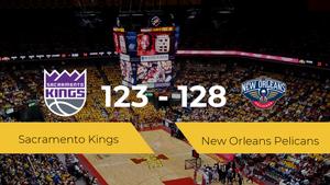 Triunfo de New Orleans Pelicans ante Sacramento Kings por 123-128