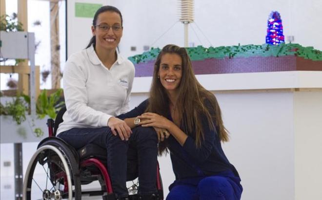 Ona Carbonell y Teresa Perales