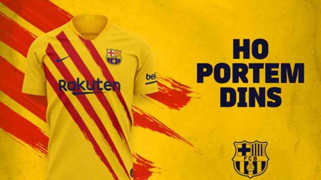 Esta es la cuarta equipación del Barcelona 2019 / 2020
