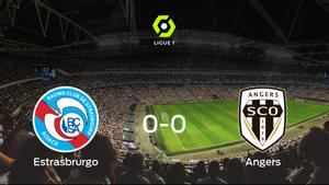 El Racing Estrasburgo y el SCO Angers no encuentran el gol y se reparten los puntos (0-0)