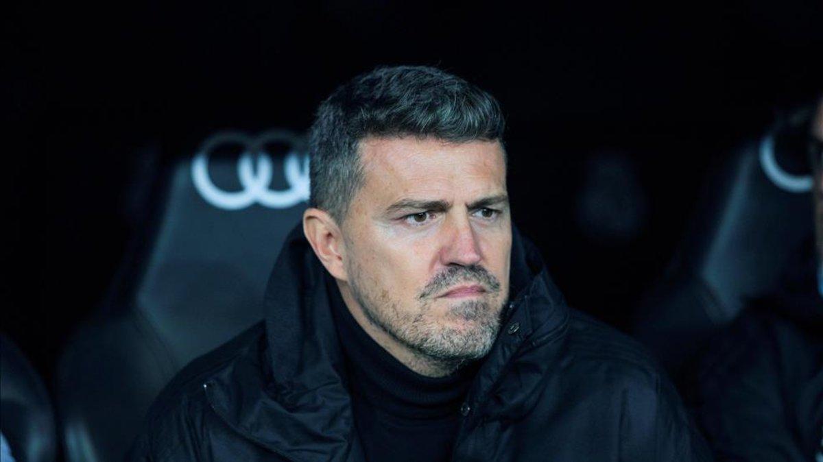 Òscar García, entrenador del Celta de Vigo