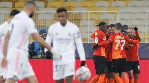El Madrid naufraga ante el Shakhtar