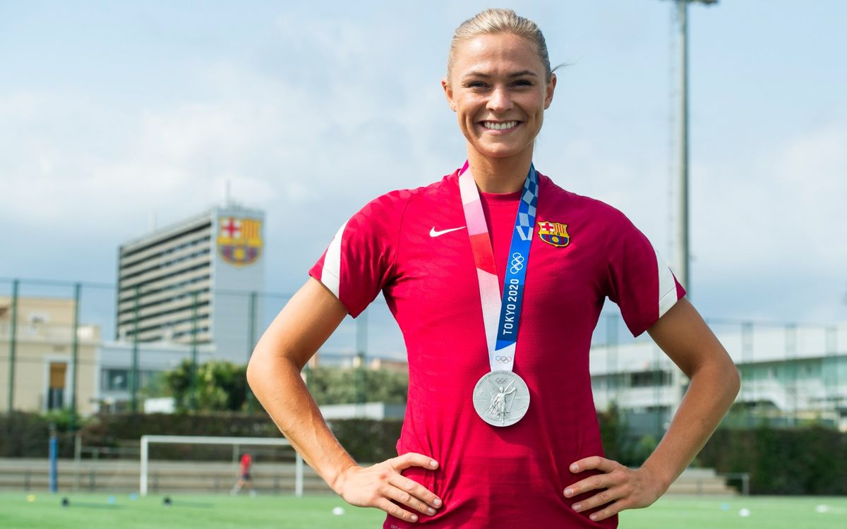 Fridolina Rolfö se incorpora al Barça tras ganar la medalla de plata en Tokyo