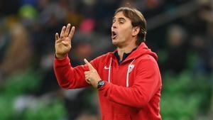 Julen Lopetegui, entrenador del Sevilla