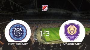 El Orlando City se lleva los tres puntos ante el New York City (1-3)