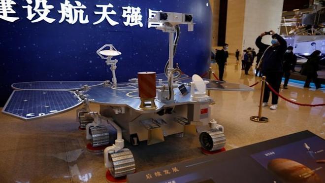 La Tianwen-1 aterriza éxitosamente en Marte convirtiéndose así en el primer rover chino en la superficie marciana