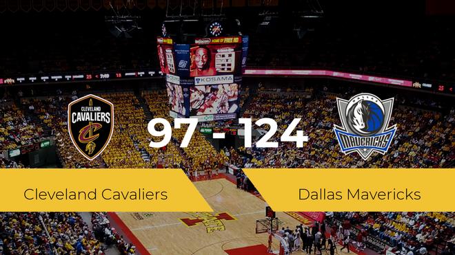 Victoria de Dallas Mavericks ante Cleveland Cavaliers por 97-124