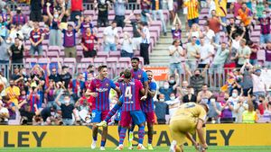 El resumen de la goleada del Barça al Levante: estelar regreso de Ansu Fati