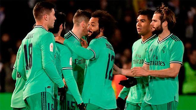 Tres goles del Madrid sentencian al Unionistas