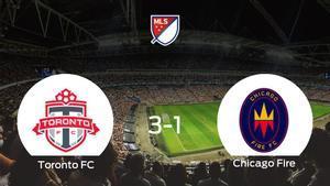 3-1: El Toronto FC se impone al Chicago Fire