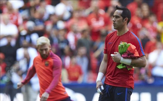 Claudio Bravo se está planteando poner punto y final a su carrera en el FC Barcelona