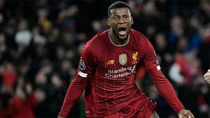 Georginio Wijnaldum metió el miedo al Atlético de Madrid