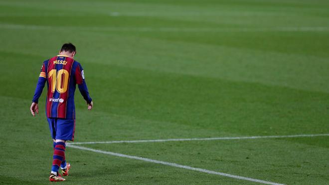 Messi no volverá a defender la camiseta blaugrana