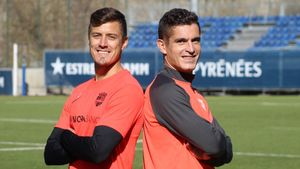 Martín Mantovani y Marc Pedraza fueron reclutados esta temporada por Gerard Piqué para el FC Andorra