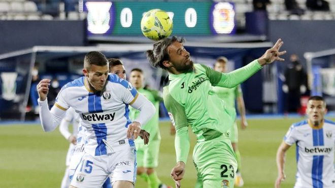 El Leganés acumula tres empates y una victoria en sus más recientes disputas ligueras