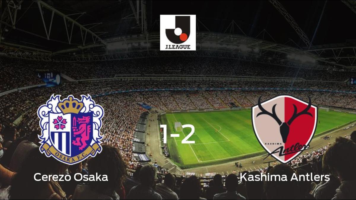 El Kashima Antlers se lleva tres puntos a casa después de vencer 1-2 al Cerezo Osaka