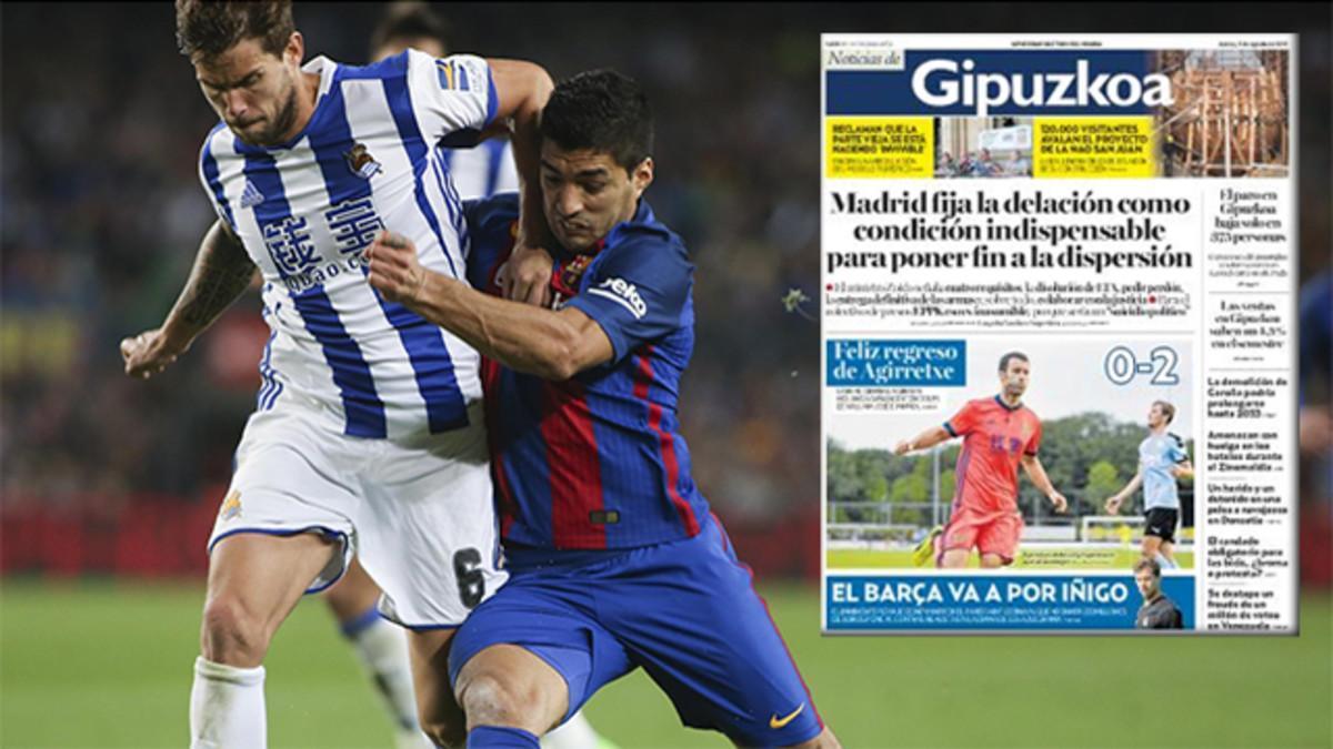 Íñigo Martínez interesa al Barça