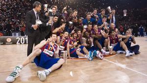 El Barça alcanzó el Olimpo en 2010 en París