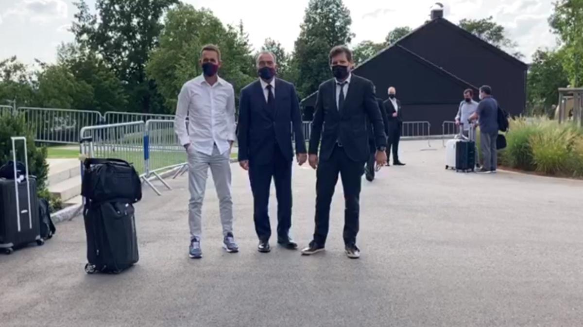 El Barça llega a Alemania