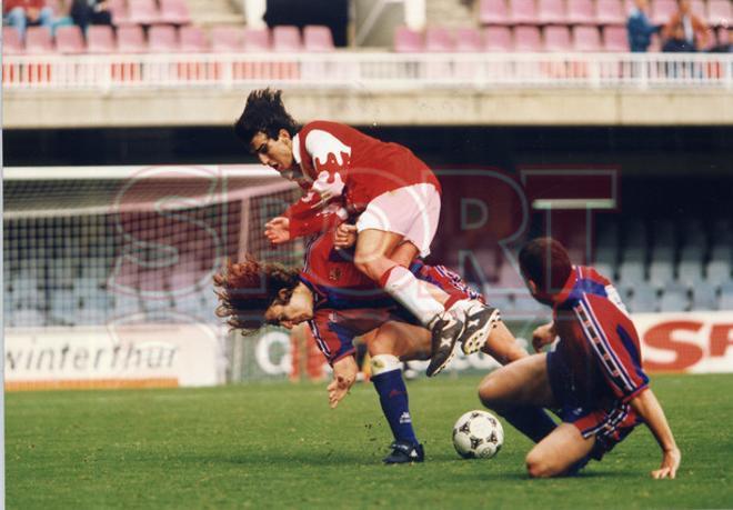 4.Carles Puyol 1996-97