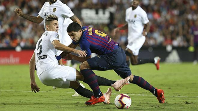 Todo pudo cambiar: La jugada entre Suárez y Gayà que podría ser penalti