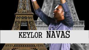Keylor Navas, la Torre Eiffel del PSG
