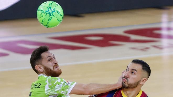 El partido fue una lucha continua entre ambos equipos