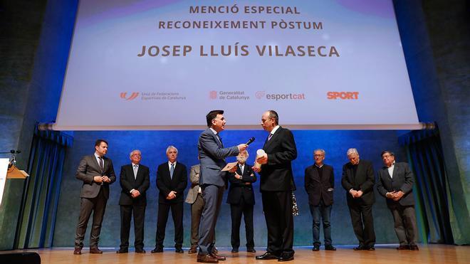 Josep-Lluís Vilaseca: Premio Póstumo