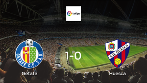 Getafe seal the victory in the second half against Huesca