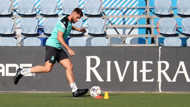David López, ilusionado con el Espanyol en su regreso a Primera