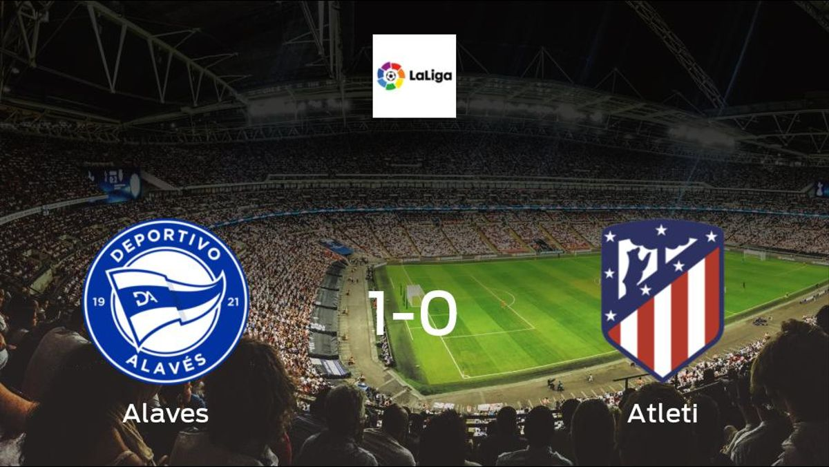 Alaves avoid defeat and secure a 1-0 victory at home to Atleti