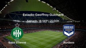 Previa del encuentro: AS Saint Etienne - FC Girondins Burdeos