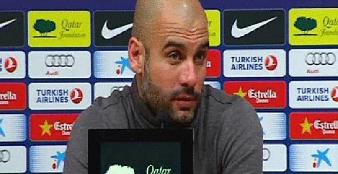Guardiola: Mientras que Leo esté bien, jugará