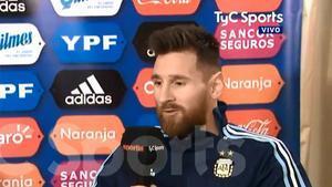 Messi habló de un posible futuro en Argentina