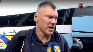 """Jasikevicius: """"Como todos los partidos en Estambul, será difícil"""""""