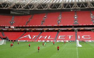 El estadio de San Mamés, en una foto de archivo